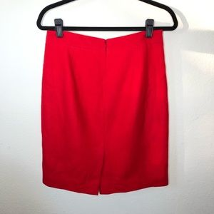 J. Crew Skirts - J. Crew The Pencil Skirt Wool Blend Size 6 EUC
